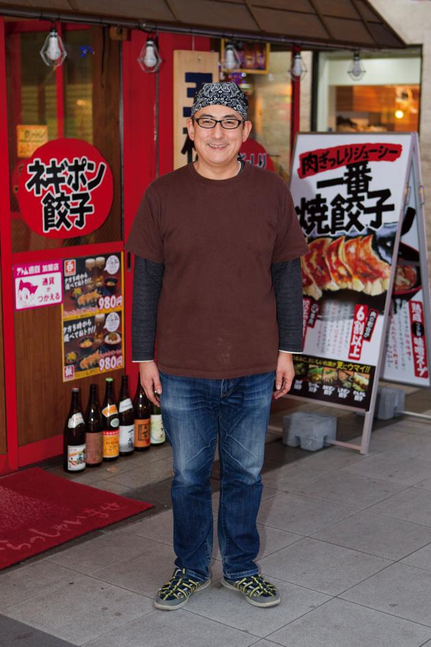 「地元の食材」に徹底的にこだわる店主の杉山さん