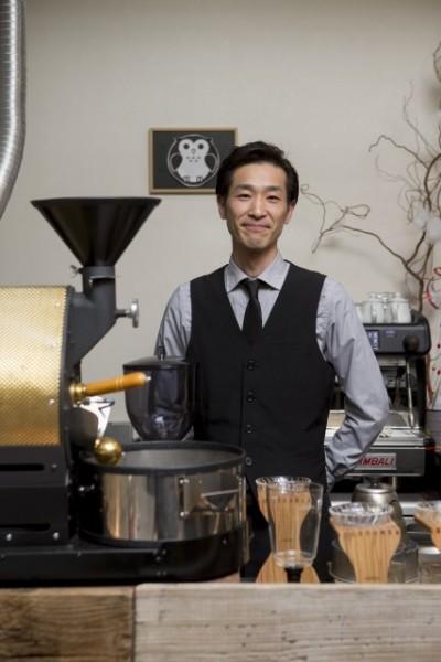 「お客様の好みに合わせてコーヒーを入れること」がモットーの土田さん