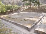 仙台城本丸に至る登城路の「巽門跡」