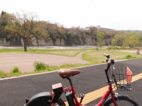28自転車での乗り入れは禁止なので自転車もひと休み