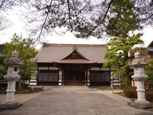 東昌寺の本堂