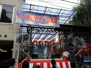 演芸ステージでは仙台で活躍しているアーティストも登場する