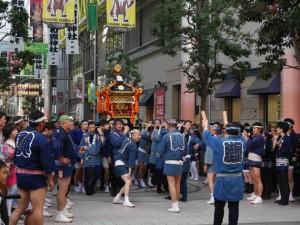 和霊神社/ぶらんどーむ一番町の神輿