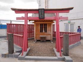 フォーラス屋上に鎮座する和霊神社