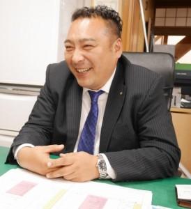 柳町 商工振興部 部長 林克己さん