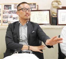 まつりの運営は思っているより大変。毎年勉強ですと岩本さん