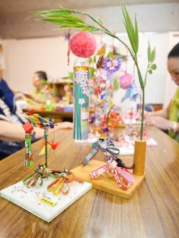 仙台伝統 政宗・愛姫 「七夕飾り」2,800円(税込)と「見に七夕飾り」2,000円(税込)