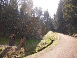 仙台博物館から続く、かつての登城路